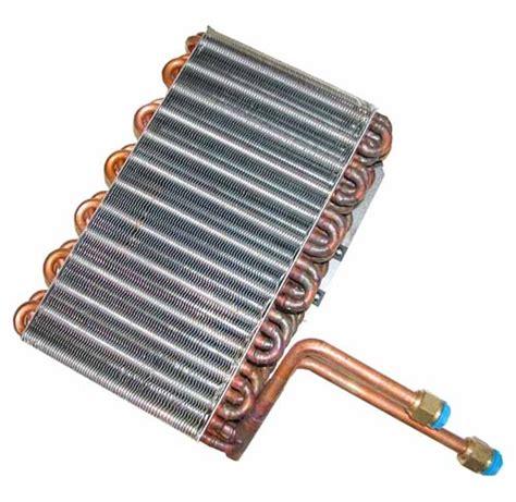 evaporator coil servicing a split unit air conditioner at home
