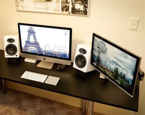 mac ram monitor mac setup dual display imac 27 and a decked out pc