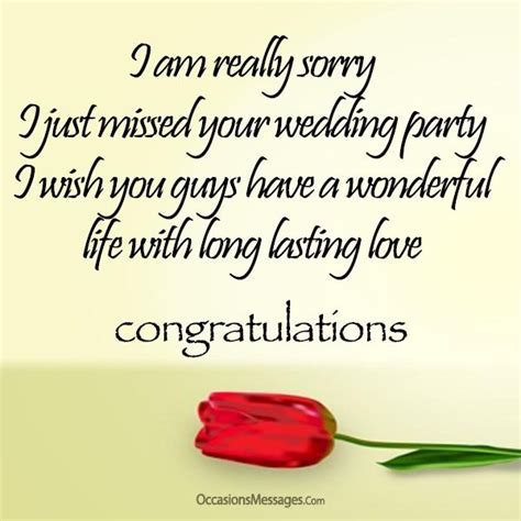 Wedding Wishes When Not Attending by Congratulations On Your Wedding Wishes Www Pixshark