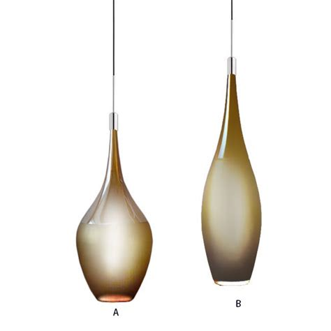 blown glass pendant light shades modern blown slim glass shade pendant lighting 12132