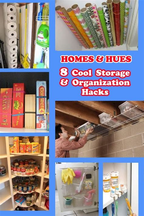 organizatoin hacks 8 more storage organization hacks homes and hues