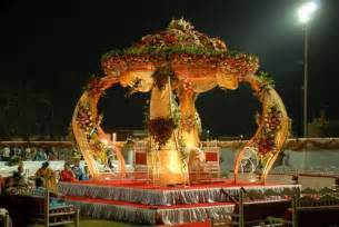 To the stage decorations indian have also wedding mandap decorations