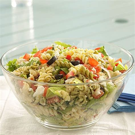 potluck salad mayo free hot weather friendly potluck pasta salads