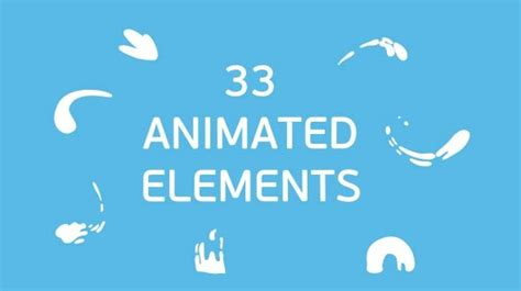 animated cartoon  effects templates design freebies