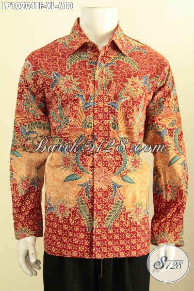 Bahan Adem Glosy Celana Kantor Pria Cowo Model Slimfit High Quality model baju batik pria kantor kemeja batik mewah bahan adem motif klasik proses tulis busana