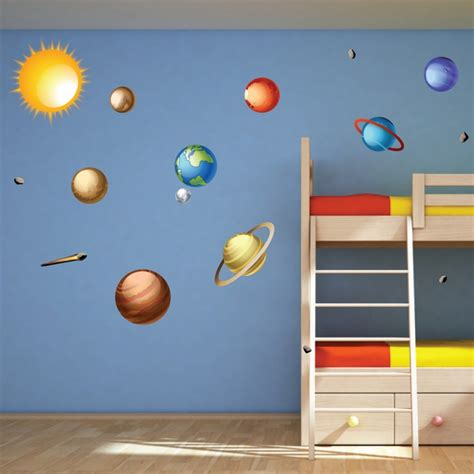 solar system wall decals wallsneedlove wall decals