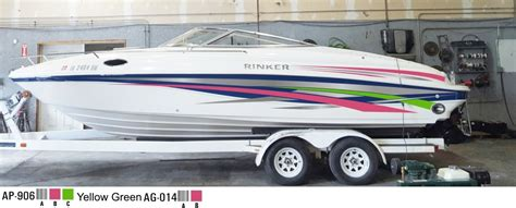 rinker boats vanilla new graphics for my 232 captiva rinker boats