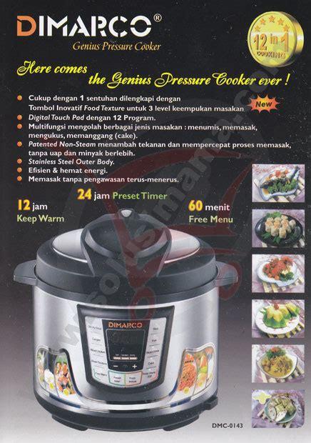 Signora Airwave Multi Fungsi Oven solusi genius pressure cooker