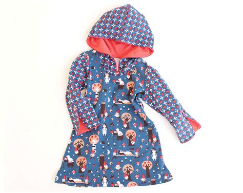 pattern hooded dress girl hooded dress sewing pattern pdf snow white long by