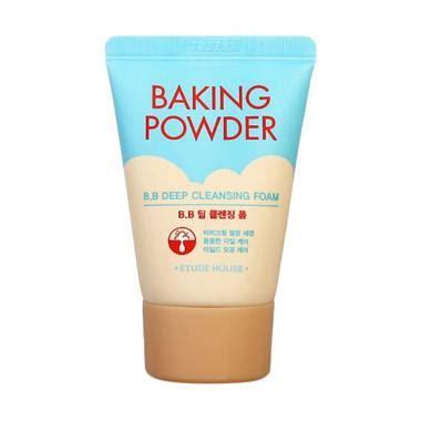 Pembersih Wajah Etude House jual etude house baking powder bb cleansing foam