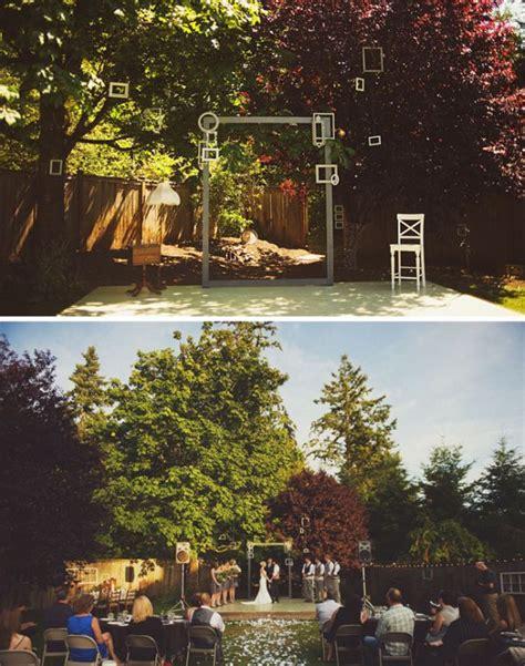 Backyard Wedding Altar Ideas 10 Original Altar Design Ideas For Outdoor Weddings