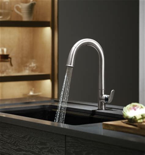 kohler sensate kitchen faucet what s cooking home design magazine