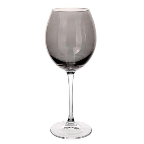 verre lustre verre 224 vin en verre gris lustr 201 maisons du monde