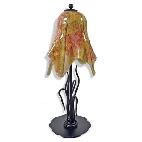 Small Iron Desk Lamp Pictured Is Our Contemporary Style Wrought Iron River Reed