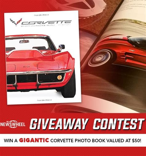 Book Giveaway Contest - enter the gigantic chevy corvette photo book giveaway contest the news wheel