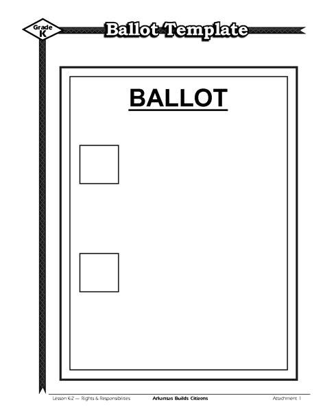 templates for voting voting ballot template bikeboulevardstucson com