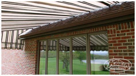 Kohler Awning by Rod Roof Fabric Awnings Kohler Awning