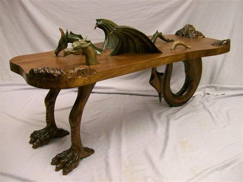 Under The Cabinet Coffee Makers by Handmade Dragon Coffee Table By Custom Wood Carving