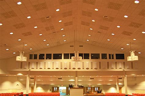 Church Ceiling Lights Sound Diffuser Model C Diffusor Acoustical Panels Soundproofing Materials To