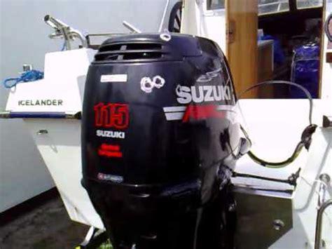 Suzuki 115 Hp Outboard Suzuki Df 115 Hp Outboard Motor 2006r Four Stroke 4 Suw