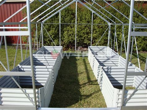 Greenhouse Planter Boxes by Greenhouse Instant Raised Garden Bed Planter Box Kit 30 Ebay