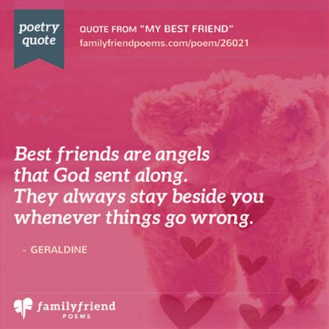 best poems poem saying thanks to a great friend my best friend