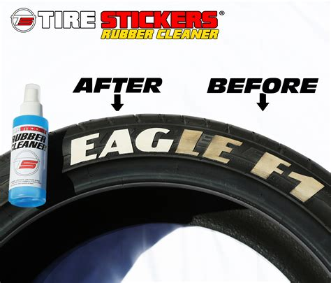 tire stickers cleaner tire stickers