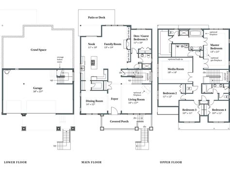 ravenwood floor plans beaverton or arbor homes gt gt 25