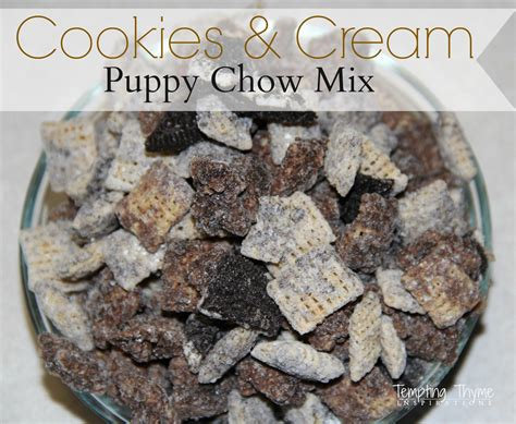 puppy chow recipe cookies and puppy chow mix tempting thyme