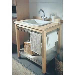 meuble lavabo en bois