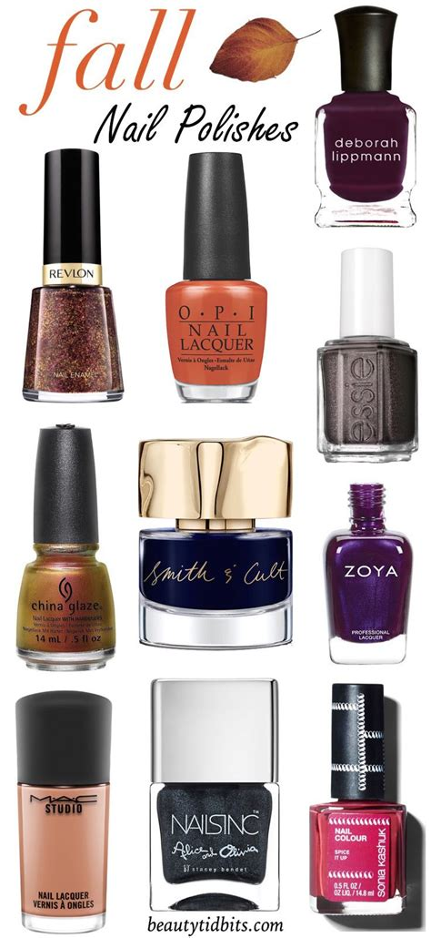 Nail Colors To Try by 10 Nail Colors To Try This Fall Seasons Fall