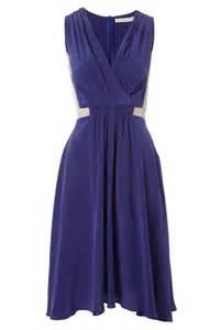zara brand new blue silk dress sz s rrp 39 party wedding ascot new womens kookai navy blue 100 silk side panel detail