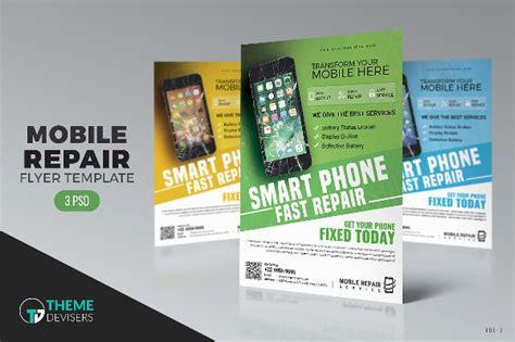 iphone repair business card template 19 mobile repair flyer free premium psd vector png ai