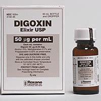 Obat Digoxin digoxin