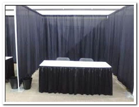 trade show drapes and pipes pipe and drape trade show booths pipe and drape