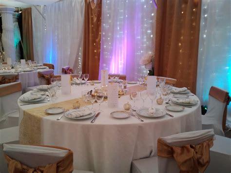 table de salle des fetes decoration pour salle mariage fete reception photo