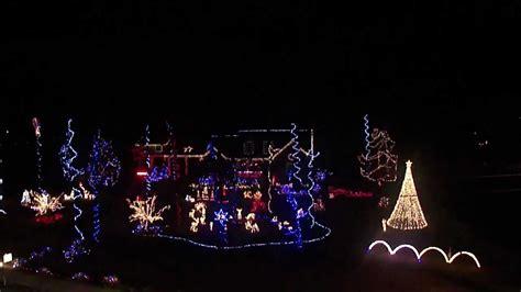 warren rd augusta ga christmas light show 2011 youtube