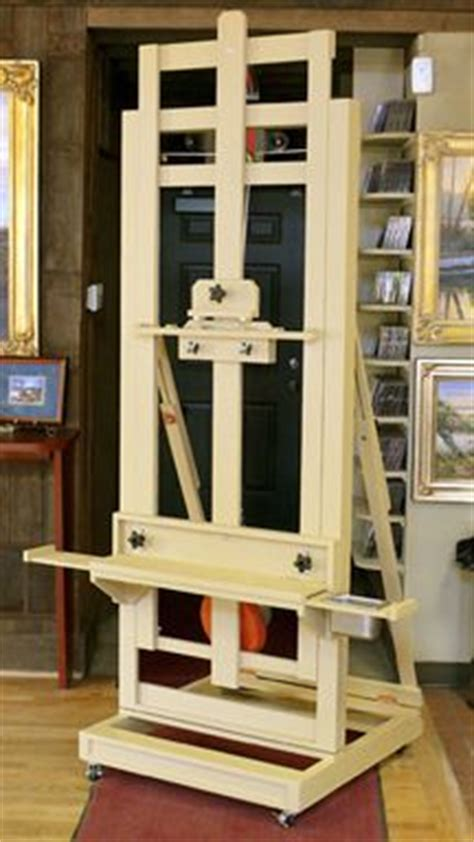 making wood urn studio easel woodworking plans
