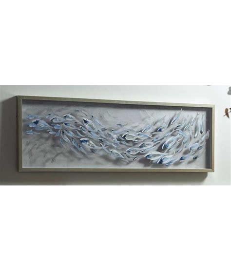 cuadro metacrilato comprar cuadro de metacrilato con peces y marco plateado