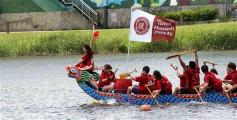dragon boat in mandarin taiwan mandarin institute taipei tmi wins dragon boat race