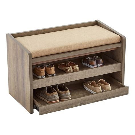 shoe bench with storage shoe bench storage solution for family entry the wooden houses
