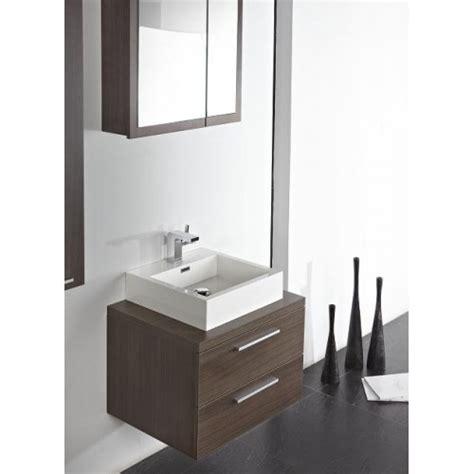 Wall Hung Bathroom Vanity by Lada Milan 620 Compact Wall Hung Bathroom Vanity Milan