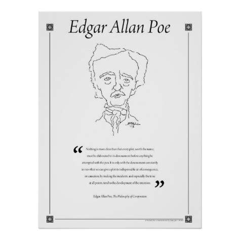 Edgar Allen Poe Essay by Edgar Allan Poe Writing Quote Poster Zazzle