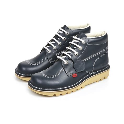 Boot Pria Kickers Leather Suede s kick hi classic kickers from kickers uk