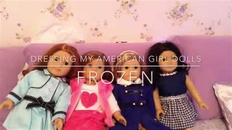 Hairstyle Doll Frozen by Dressing My American Dolls Frozen Hairstyles