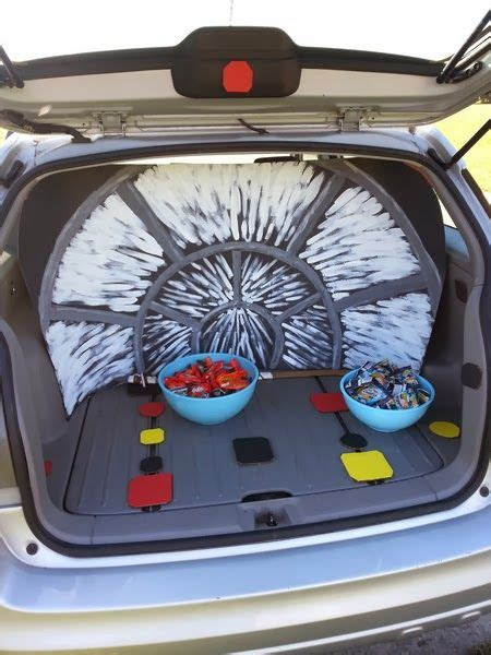 star wars trunk  treat millennium falcon