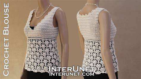 Blouse Tank Top white tank top crochet lace blouse