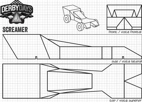 derby car design templates cool pinewood derby templates free premium