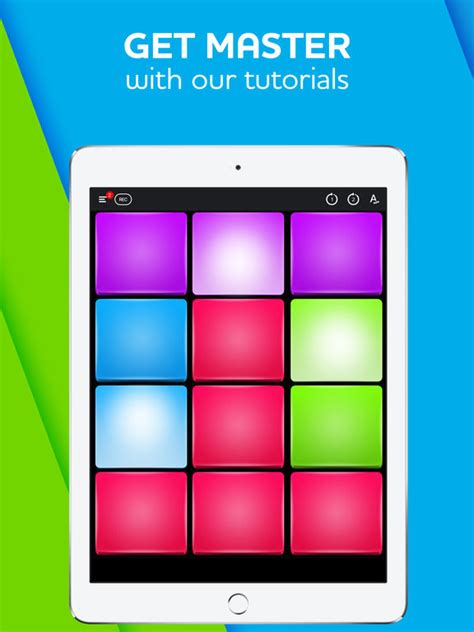 best drum tutorial app 12 pads make beats with drum pads edm music electro