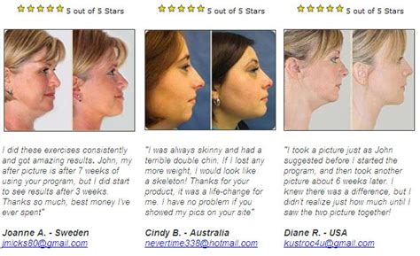 double chin exercises face fitness formula cheeks exercise what they promise